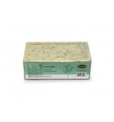 Olive Oil Soap with SAGE LEAF & SAGE EXTRACT , fragrance free 200gr