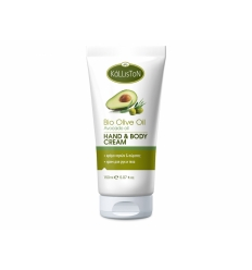 HAND & BODY CREAM WITH ORGANIC OLIVE OIL + AVOCADO OIL 150ML