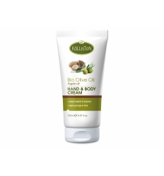 HAND & BODY CREAM WITH ORGANIC OIL & ARGAN OIL 150ML
