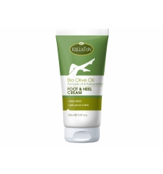 FOOT CREAM WITH ORGANIC OLIVE OIL & AVOCADO OIL & RUSCUS EXTRACT 150ML