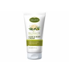 HAND & BODY CREAM WITH ORGANIC OLIVE OIL & MASTIHA EXTRACT 150ML