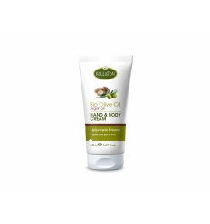 HAND & BODY CREAM WITH ORGANIC OLIVE OIL & ARGAN OIL 50ML