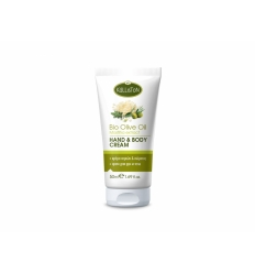HAND & BODY CREAM WITH ORGANIC OLIVE OIL & MASTIHA EXTRACT 50ML