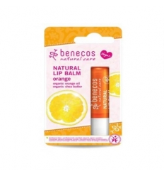 NATURAL LIP BALM ORANGE - BENECOS