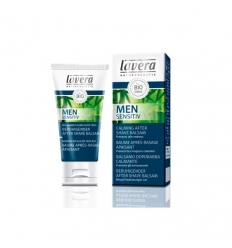 Men Sensitive Calming Aftershave Balm- LAVERA
